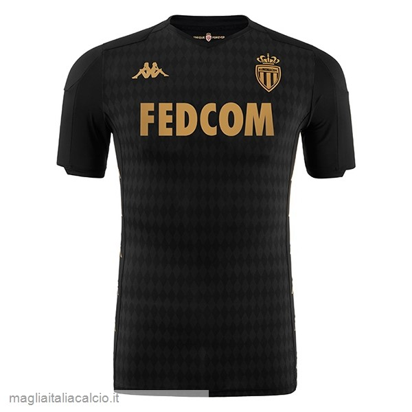 Originale Away Maglia AS Monaco 2019 2020 Nero