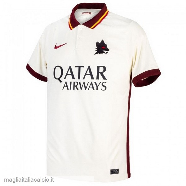 Originale Away Maglie As Roma 2020 2021 Bianco