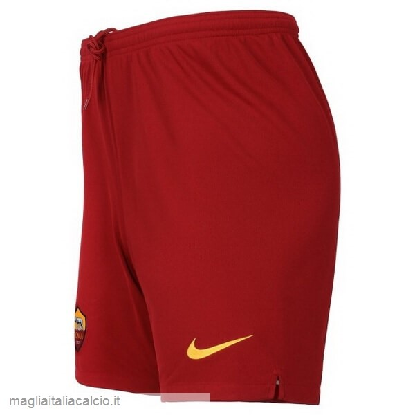 Originale Away Pantaloni As Roma 2019 2020 Rosso