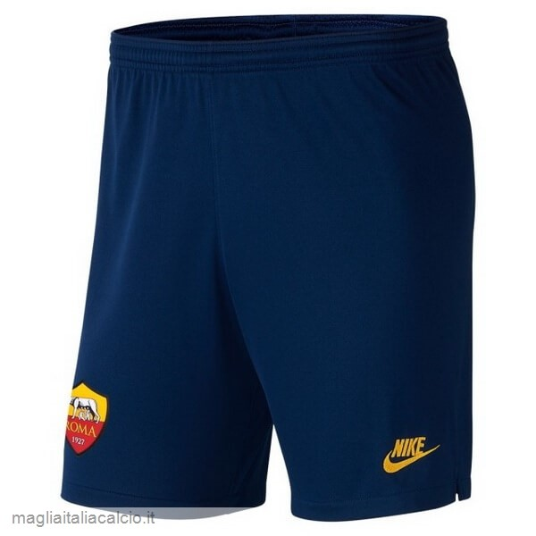 Originale Terza Pantaloni As Roma 2019 2020 Blu