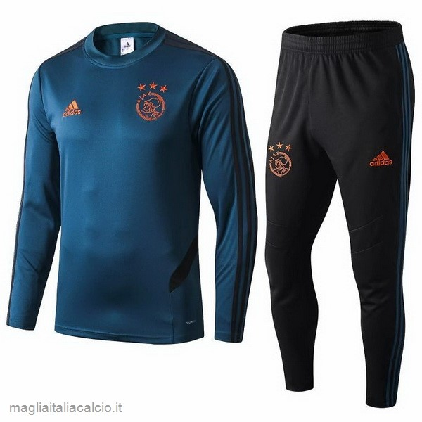 Originale Tuta Calcio Ajax 2019 2020 Blu Nero