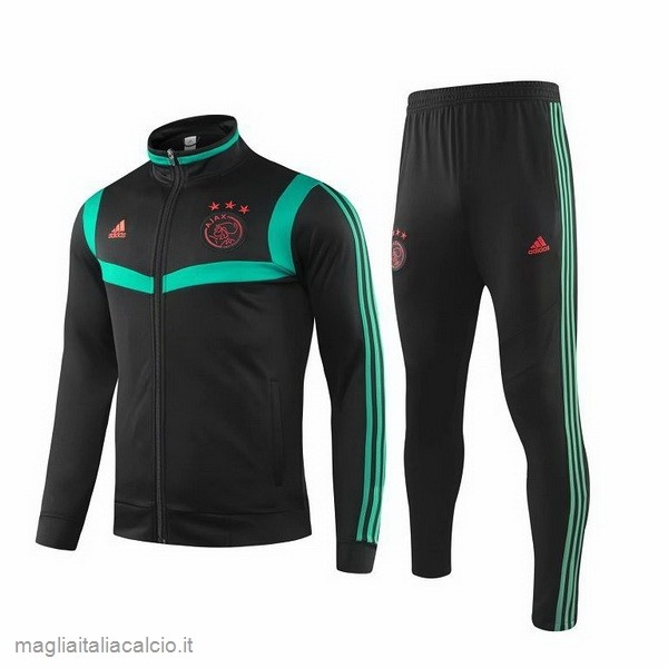Originale Tuta Calcio Ajax 2019 2020 Nero Verde