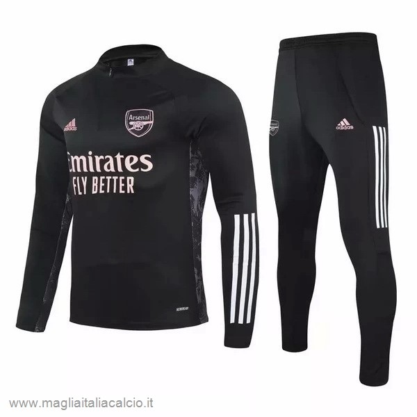 Originale Giacca Arsenal 2020 2021 Nero Rosa