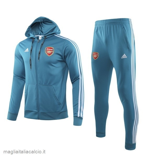 Originale Tuta Calcio Arsenal 2019 2020 Blu Luce