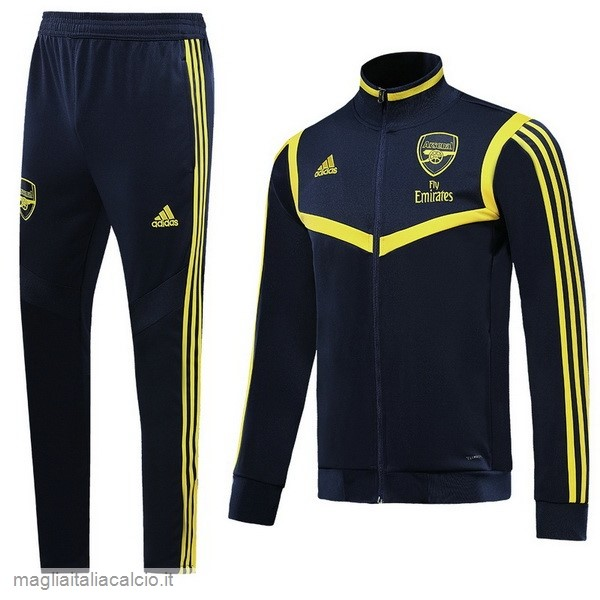 Originale Tuta Calcio Arsenal 2019 2020 Nero Giallo