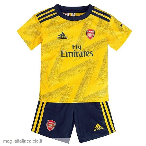 Originale Away Conjunto De Bambino Arsenal 2019 2020 Giallo