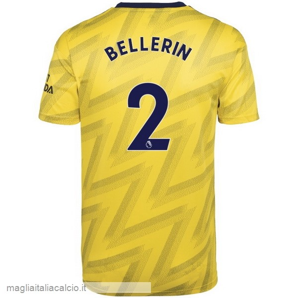Originale NO.2 Bellerin Away Maglia Arsenal 2019 2020 Giallo