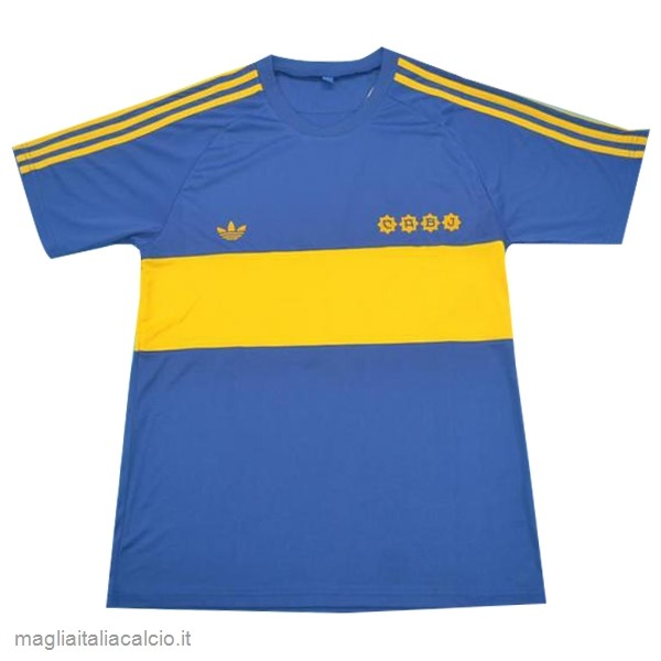 Originale Home Maglia Boca Junioros Retro 1881 Blu
