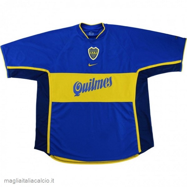 Originale Home Maglia Boca Junioros Retro 2001 Blu