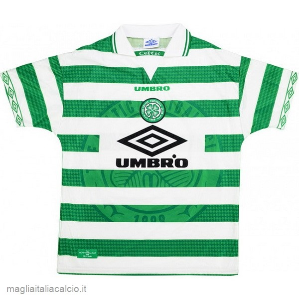 Originale Home Maglie Celtic Stile rétro 1997 1999 Verde