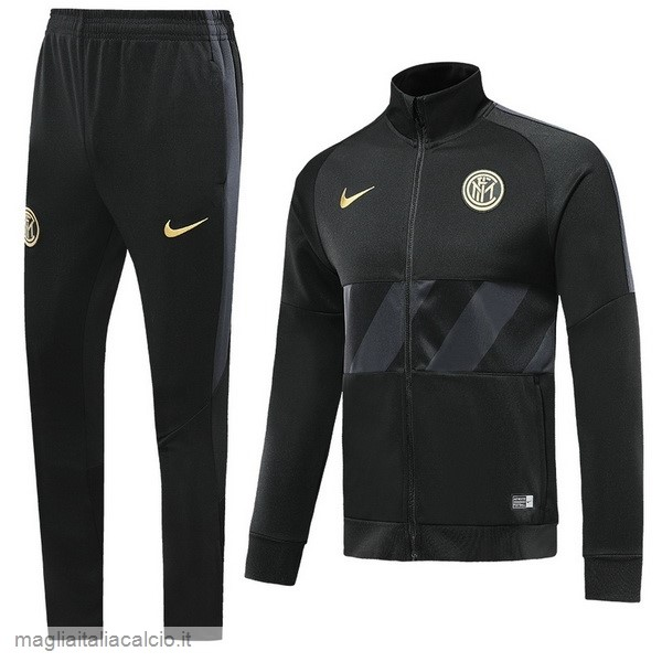 Originale Tuta Calcio Inter Milán 2019 2020 Nero