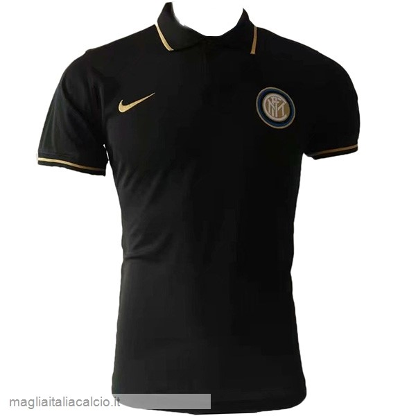 Originale Polo Inter Milán 2019 2020 Nero