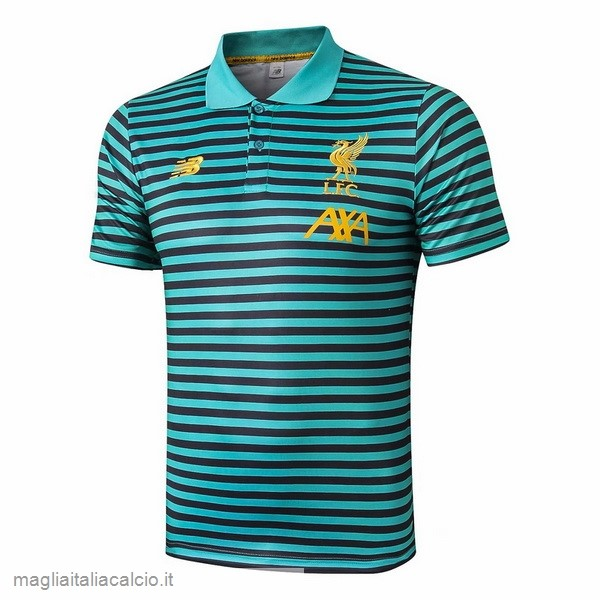 Originale Polo Liverpool 2019 2020 Verde Nero