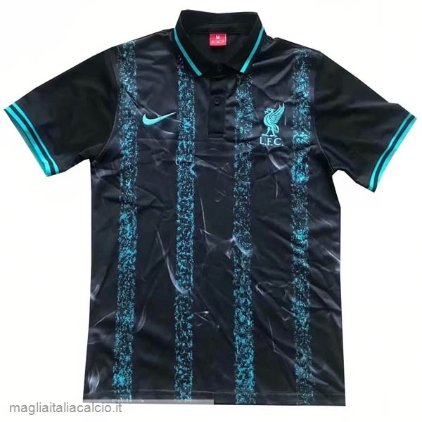 Originale Polo Liverpool 2019/20 Nero Blu