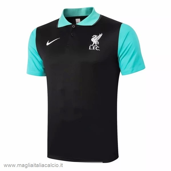 Originale Polo Liverpool 2020 2021 Nero Verde