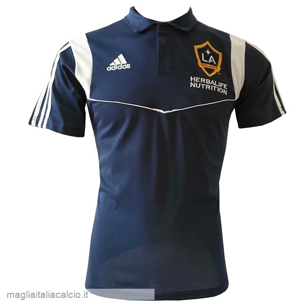 Originale Polo Los Angeles Galaxy 2019 2020 Blu Navy