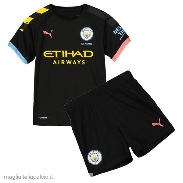 Originale Away Conjunto De Bambino Manchester City 2019 2020 Nero