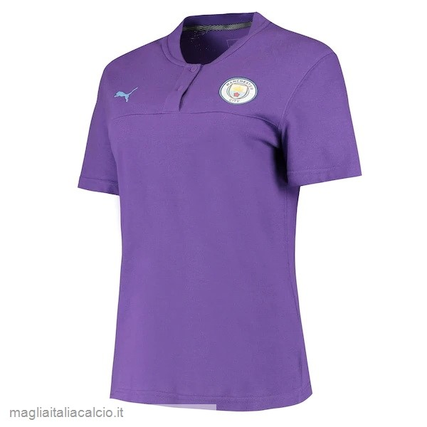 Originale Polo Manchester City 2019 2020 Purpureo