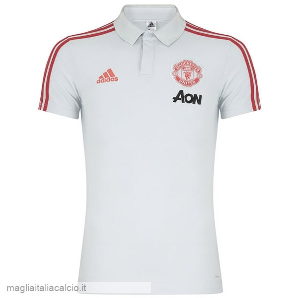 Originale Polo Manchester United 2019 2020 Bianco