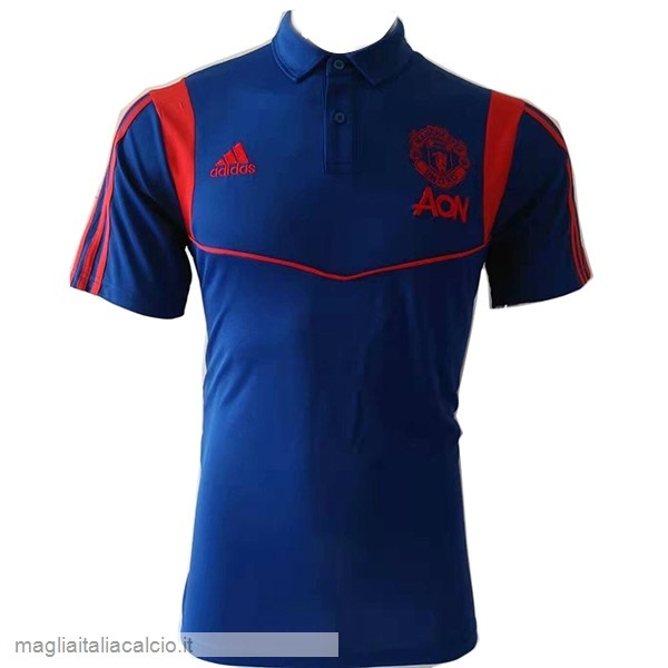 Originale Polo Manchester United 2019 2020 Blu Navy