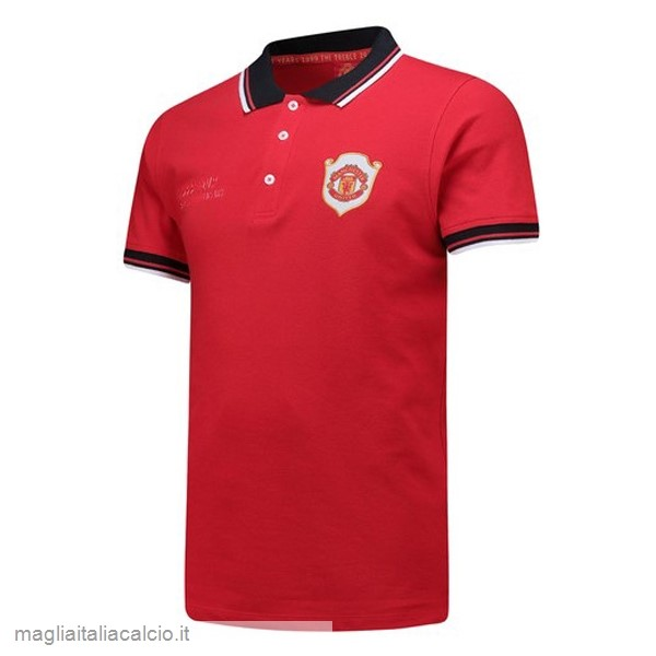 Originale Polo Manchester United 20th Rosso