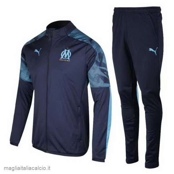 Originale Tuta Calcio Marseille 2019 2020 Blu Navy