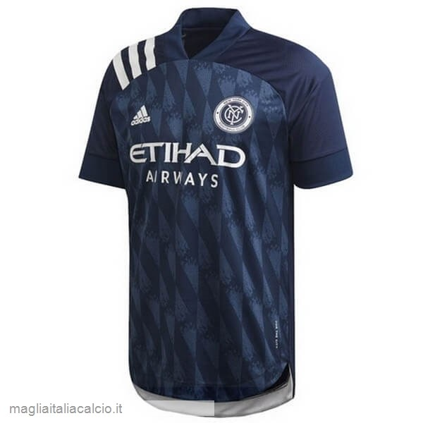 Originale Away Maglia New York City 2020 2021 Blu