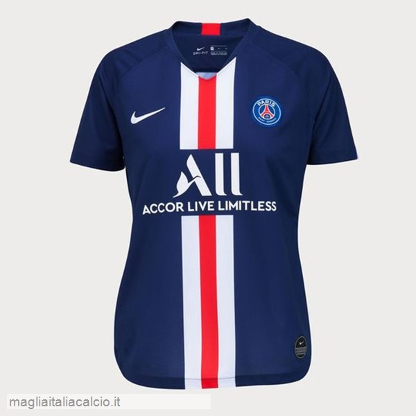 Originale Home Maglia Donna Paris Saint Germain 2019 2020 Blu