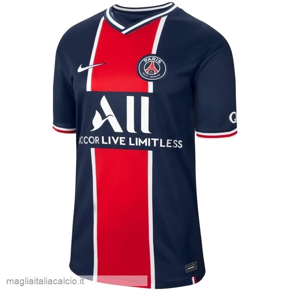 Originale Home Maglie Paris Saint Germain 2020 2021 Blu