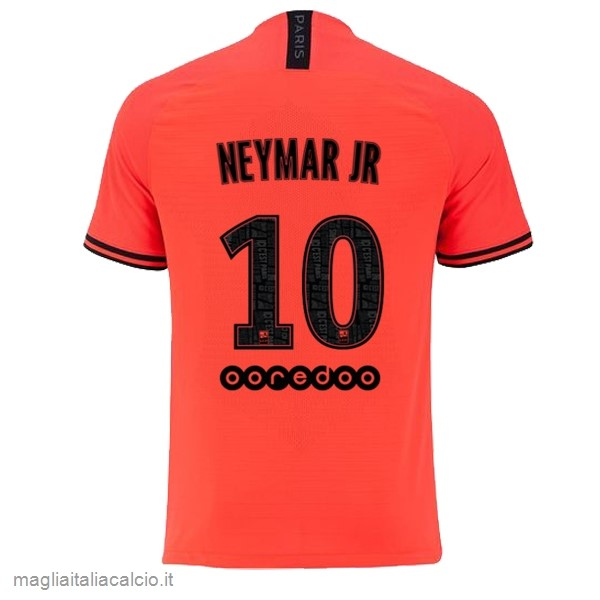 Originale NO.10 Neymar JR Away Maglia Paris Saint Germain 2019 2020 Oroange