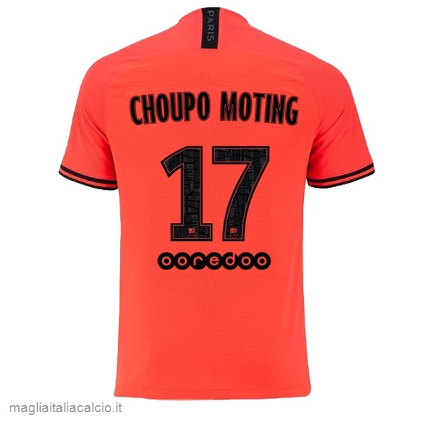 Originale NO.17 Choupo Moting Away Maglia Paris Saint Germain 2019 2020 Oroange