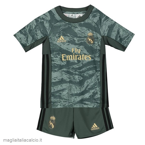 Originale Away Conjunto De Bambino Portiere Real Madrid 2019 2020 Verde