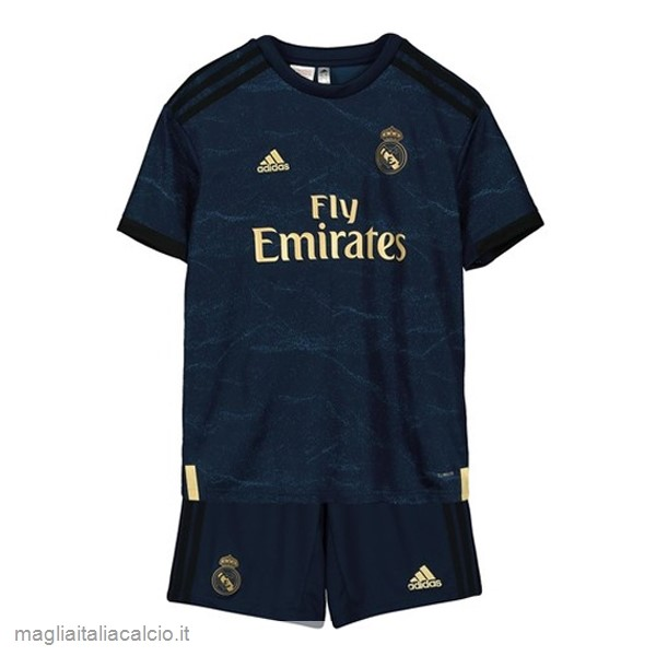 Originale Away Conjunto De Bambino Real Madrid 2019 2020 Blu