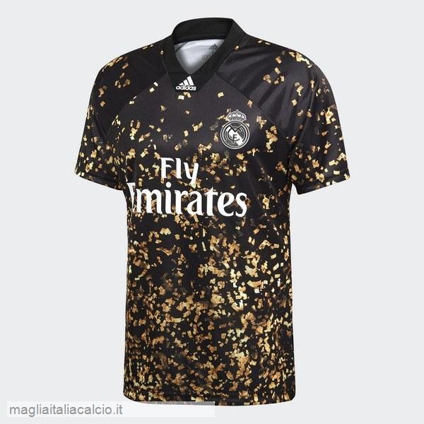 Originale EA Sport Maglie Real Madrid 2019/20 Giallo Nero