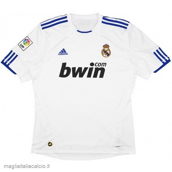 Originale Home Maglie Real Madrid Rétro 2010 2011 Bianco