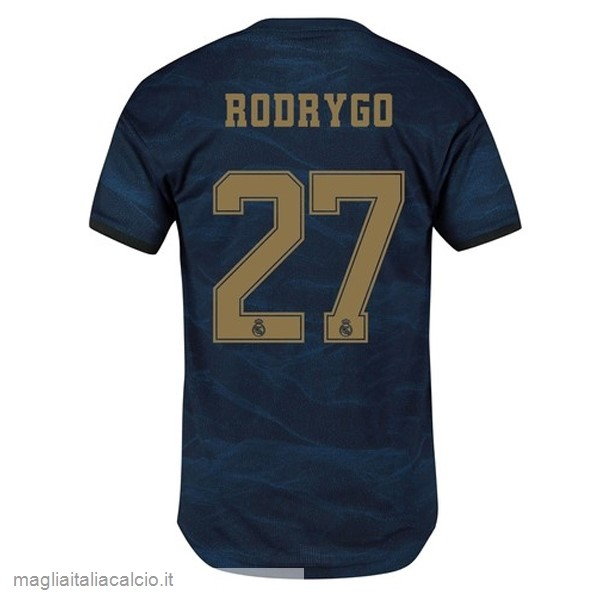 Originale NO.27 Rodrygo Away Maglia Real Madrid 2019 2020 Blu