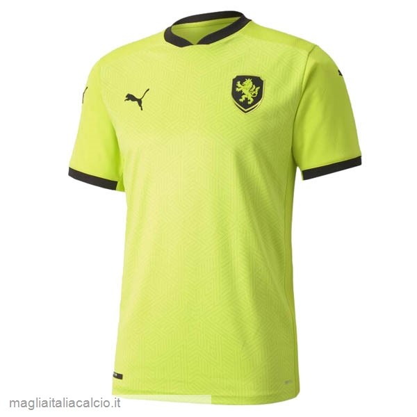 Originale Away Maglie Republica Ceca 2020 Verde