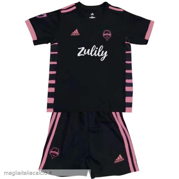 Originale Away Conjunto De Bambino Seattle Sounders 2019 2020 Nero