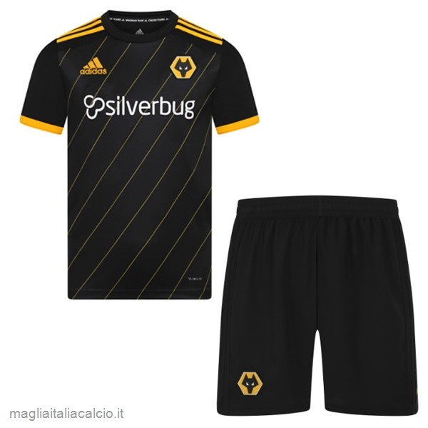 Originale Away Conjunto De Bambino Wolves 2019 2020 Nero